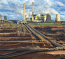 Coal power station in Australia