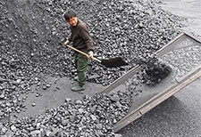 Chinese coal worker