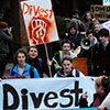 Tufts divestment rally