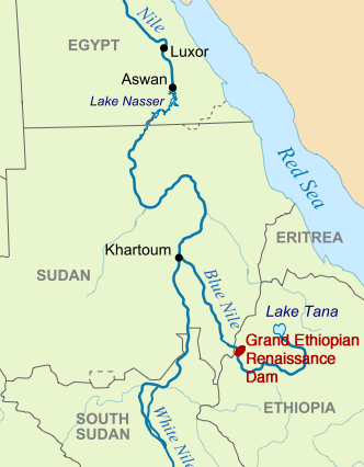Worksheet. On the River Nile a Move to Avert a Conflict Over Water  Yale E360