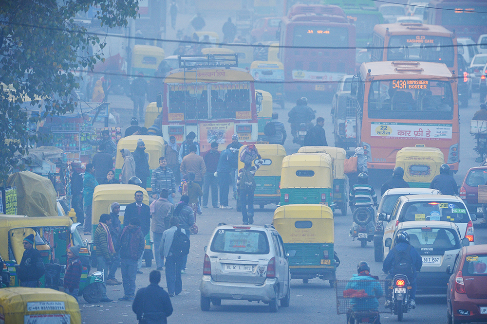 Can Uber-Style Buses Help Relieve India's Air Pollution