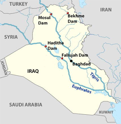 Sumber Daya Alam Air Iraq