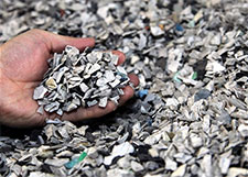 Rare earth metals recycling
