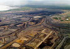 Alberta tar sands destruction