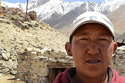 School headmaster Tashi Stobdan says the loss of water has made Kumik even poorer.