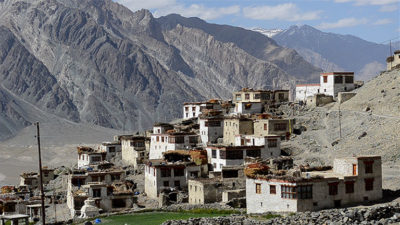 Without the water once supplied by a glacier, the Himalayan town of Kumik is now planning to relocate.