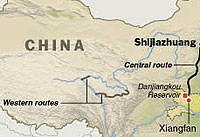 China Water Diversion Plan
