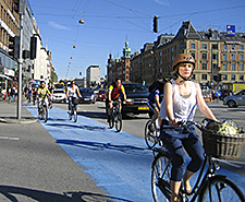 Bicyclists in Copenhagen