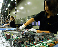 South Korea Samsung Factory