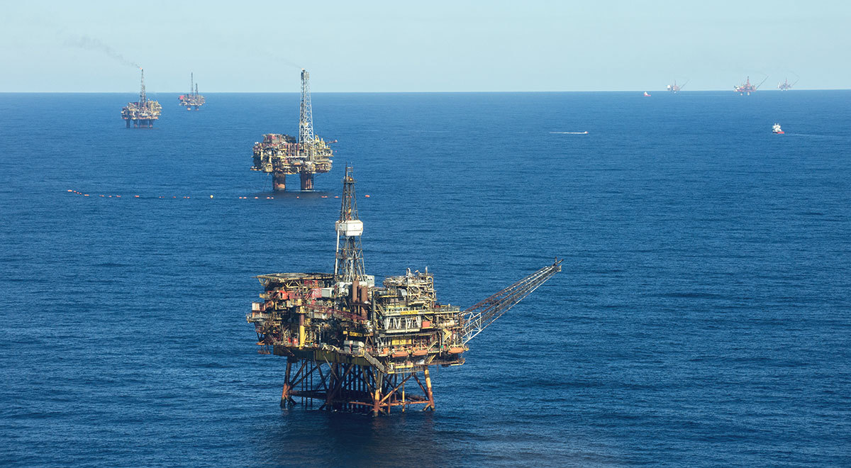 The Brent oil field, off the Scottish coast, is scheduled for decommissioning.